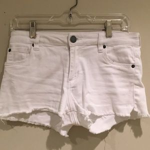 white sts blue shorts, size 24